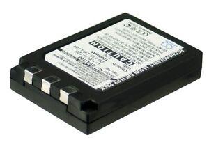 UK Battery for OLYMPUS Camedia C-470 Zoom Camedia C-50 Zoom Li-10B LI-12B 3.7V