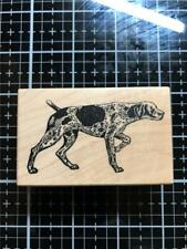 New Vintage Psx Rubber Stamp F-849 German Shorthair Pointer Dog free Usa ship