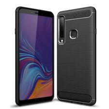 Carbon Handy Hülle für Samsung Galaxy A9 2018 SM-A920 Outdoor Case Panzer Etui
