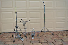 SET of YAMAHA HARDWARE - HI HAT SNARE CYMBAL STAND BASS PEDAL #N38