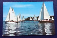 POSTCARD: AT THE START OF THE RETIRED SKIPPERS RACE: MAINE