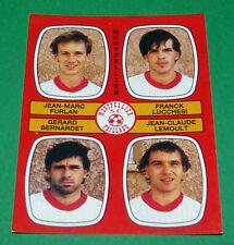 N°436 FURLAH LUCCHESI MONTPELLIER PAILLADE D2 PANINI FOOTBALL 87 1986-1987