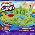 Kinetic Sand Sandbox Set 1lb of Green Natural Magical Flowing Sand Feb.15,21 New