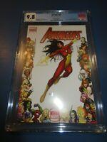 Avengers #4 Spider-Woman Frame Variant CGC 9.8 NM/M Gorgeous gem wow