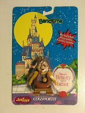 Vintage Disney's Beauty and the Beast – Cogsworth Bend-Ems by JusToys