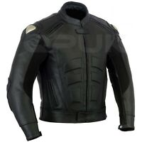 MotoGp Motorbike CowHIDE Jacket Motorcycle Leather Jacket Ce approved Protection