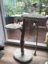Natur-Kratzbaum aus Echtholz