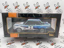 "DIE CAST "" FIAT 131 ABARTH N°2 RALLY PORTUGAL 1980 "" 18RMC053A.20  SCALA 1/18"