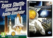 Space Shuttle Simulator + Apollo Simulator & space station simulator new&sealed