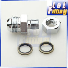 Turbo Oil Pan Drain Return Adapter Bung Fitting No Weld AN10 High Strenth Steel