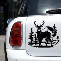 14 in Deer Woods Wild Animal Vinyl Car Stickers Hunting Car Doors Styling Decals