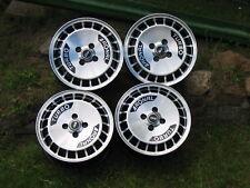 Ronal R10 TURBO 7x15 4x100 ET 28 schwarz frontkopiert Alufelgen Felgen