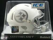 PITTSBURGH STEELERS (ICE ALTERNATE) Riddell Speed Mini Helmet