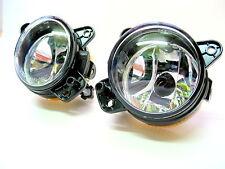 Pair of Front Fog Lamps Foglights Light Units for VW T5 Van Caravelle 2006-2010