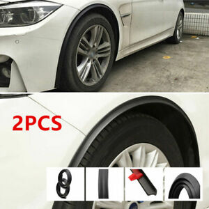 2pcs Car Fender Wheel Arches Flare Extension Flares Strip Protector Universal UK