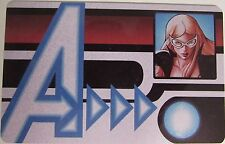 AVID-006 MOCKINGBIRD ID CARD Avengers Assemble Marvel Heroclix