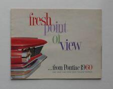 1960 Pontiac Brochure Bonneville Ventura Original