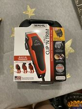 Wahl 2-In-1 Clip 'N Trim 20 PIECE KIT Haircutting Clipper Trimmer Ships Fast