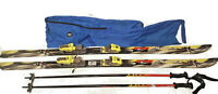 Rossignol VSK Kelvar Skis 178cm With Marker V tech Bindings Travel Bag Set