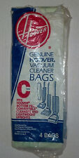 3- HOOVER TYPE 3 BOTTOM FILL VACUUM CLEANER BAGS   HARD TO FIND