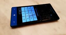 HTC Windows Phone 8S A620 PM59100 in Schwarz/Blau ( defekt )
