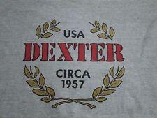 Vintage Dexter Circa 1957 USA Gray T Shirt M