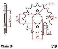 KR Ritzel 16Z Teilung 530 KAWASAKI ZXR 750 ZZR 500 600 NEU ... front sprocket