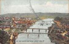 Beaver Falls Pennsylvania Birdseye View Of City Antique Postcard K89088