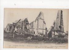 Guerre 1914-16 WW1 Bataille de la Somme Marquivilliers Vintage Postcard 103b
