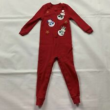 miniwear baby toddler clothes 2T christmas winter long sleeve over-alls red