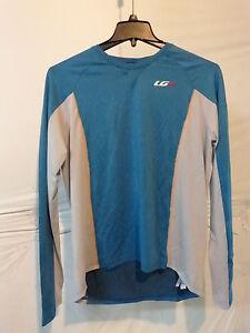 Louis Garneau HTO Jersey - Long-Sleeve - Men's Large Moroccan Blue Retail $60
