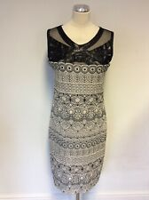 BRAND NEW SAVE THE QUEEN DRESS BLACK EMBROIDERED SEQUIN TRIM DRESS SIZE XXL