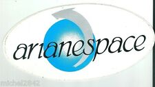 Autocollant sticker Arianespace Fusée Ariane Espace aéronautique ESA
