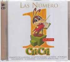 CD/DVD - Las Numero 1 De Cri Cri NEW Edicion Limitada FAST SHIPPING !