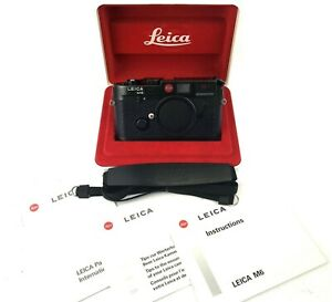 Leica M6 Non TTL 0.72 Black 1989 35mm Rangefinder mint in box/Shipping fromJapan