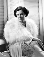 8x10 Print Irene Dunne Beautiful Fashion Portrait by Bachrach #IDBA