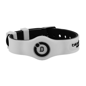 Bioflow Sport Flex Magnetic Therapy Wristband White/Black - From Bioflow Direct