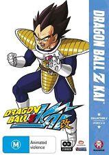 Dragon Ball Z Kai : Collection 2 (DVD, 2010, 2-Disc Set) Mint Condition