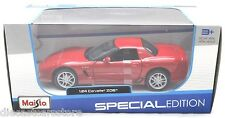 Maisto 2002 Corvette Z06 Red 1/24 Diecast Car 31989Rd