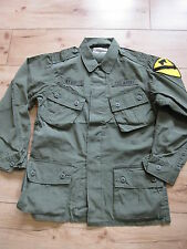 US Army Feldjacke Vietnam 1st Cavalry Fieldjacket Jungle Jacket M64 Gr L Marines