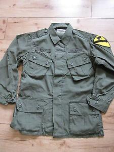 US Army Feldjacke Vietnam 1st Cavalry Fieldjacket Jungle Jacket M64 - XL Marines