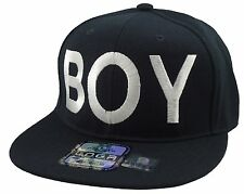 NEW VINTAGE BOY HIP HOP SNAPBACK CAP HAT BLACK