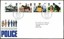 GB FDC 1979 Police, Philatelic Bureau H/S #C39618