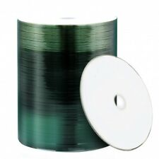 100 Mediarange White Printable Blank CD-R 700MB CD 80min 52x MR203 Shrinkwrap