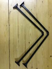 Antique Lid Stay Hinge  Cabinet Hinge Folding Lid Support Hinge Stay 61 cm