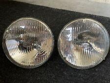 "NOS. Hella 7"" sealed beam Headlights HOLDEN FORD 1970s Monaro Torana FORD GT"