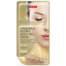 [PUREDERM] Eye & Neck Hydro Gold Gel Mask 1/3/7pcs Lot - BEST Korea Cosmetic
