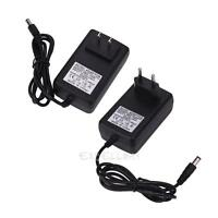 AC to DC 5.5mmx2.5mm US/EU Plug Adapter AC 110~240V to DC 19V 600mA Power Supply