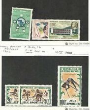 Central Africa, Postage Stamp, #3, 12-13, 19-20, C6 Mint Hinged, 1960-2 Olympics