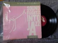 Sound Flights into Jazz Vol 9 LP V/A Air Force Reserve Rare